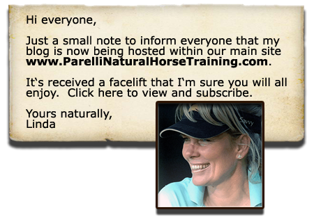 View and subscribe to Linda Parelli's new 'Parelli-hosted' blogs!
